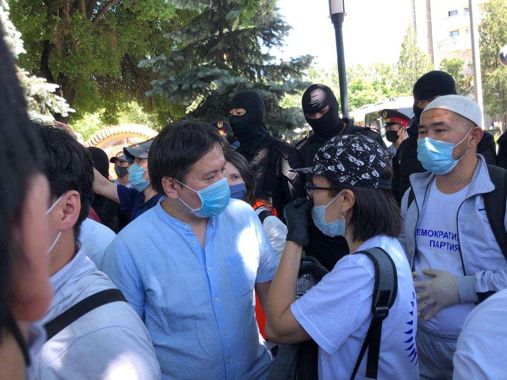 Жанболат Мамай объявлял голодовку