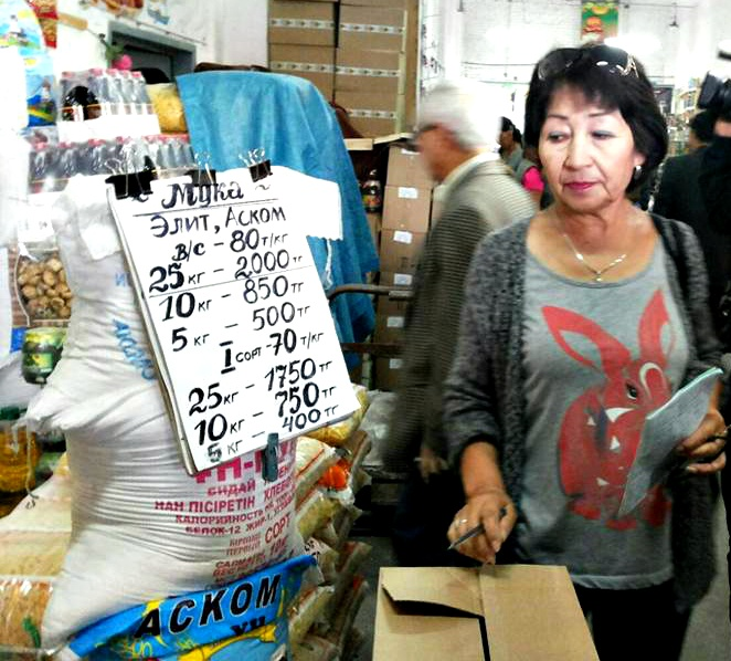 В Усть-Каменогорске проверяют цены