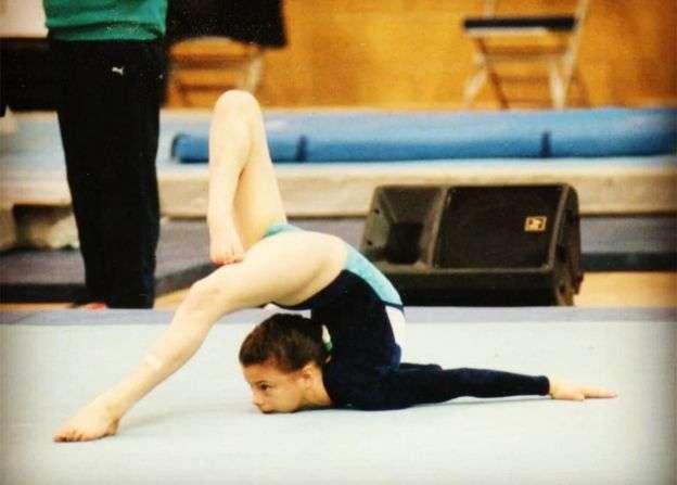 В детстве Молли Уильямс занималась гимнастикой