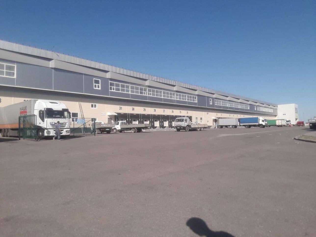 """Транспортно-логистический центр компании ТОО """"Continental Logistics"""""""