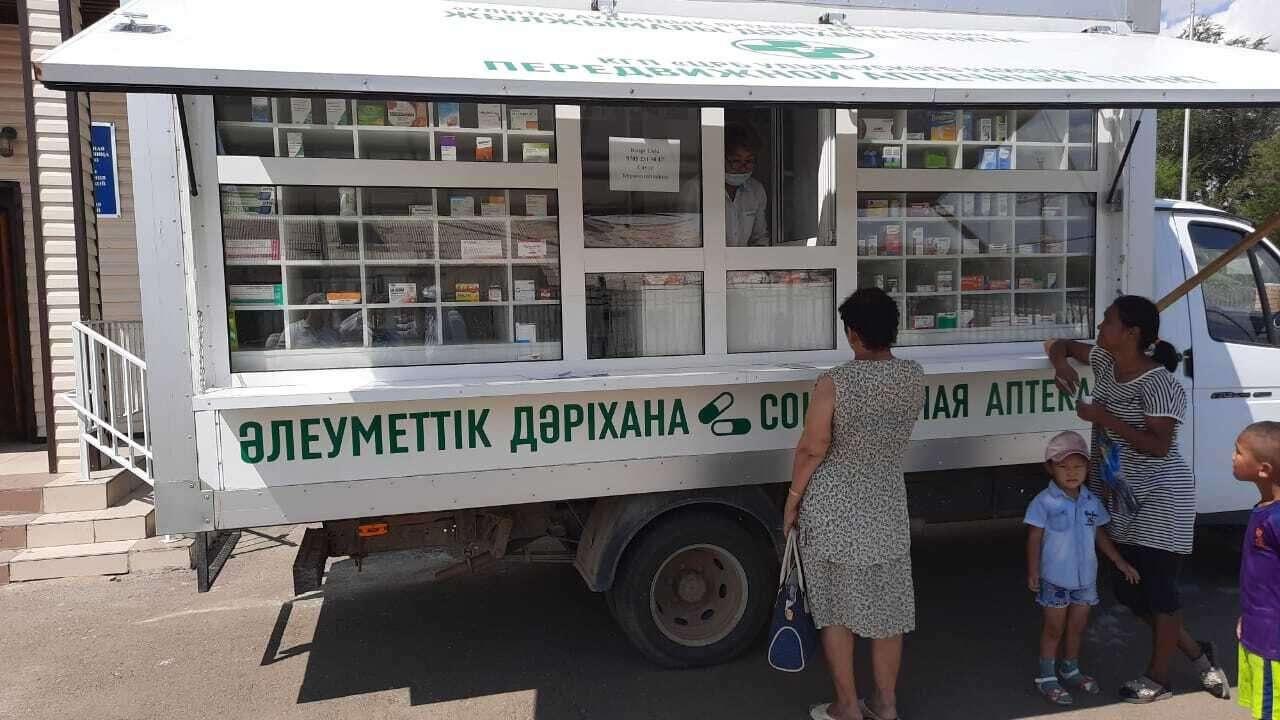 Аптеки на колёсах приезжают в сёла регулярно