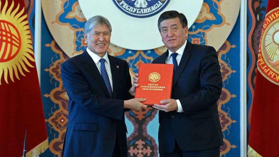 Алмазбек Атамбаев и Сооронбай Жээнбеков