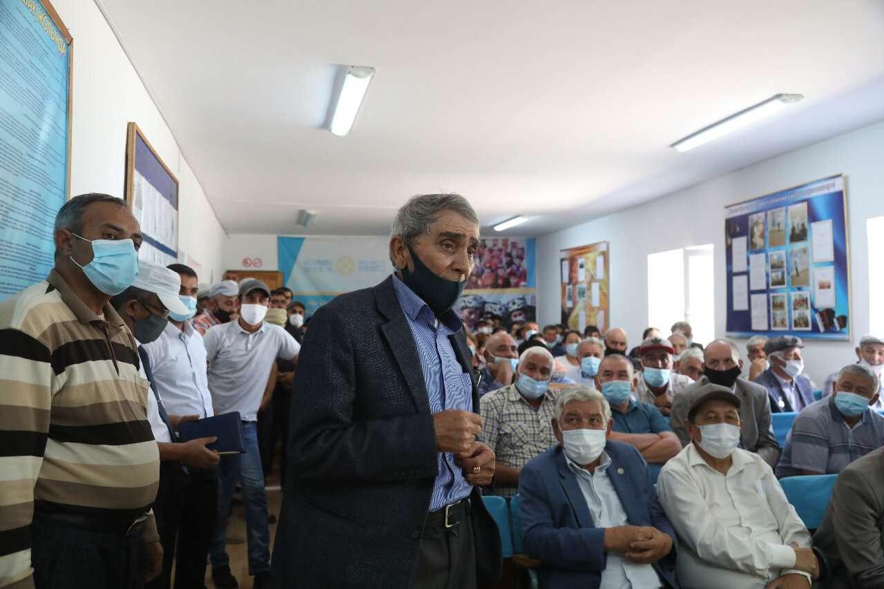 Встреча акима с жителями села