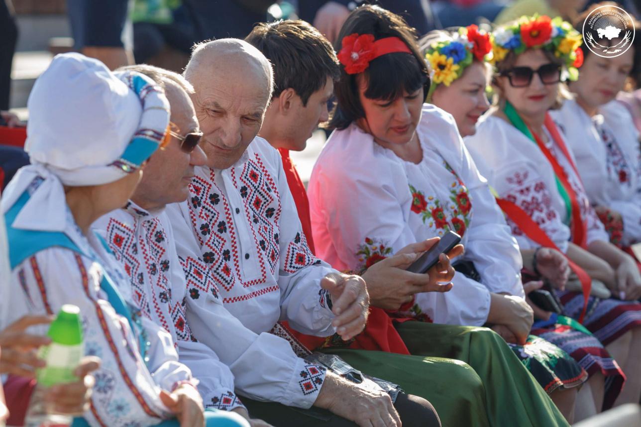 Праздничный концерт Ассамблеи народа Казахстана, посвящённый Дню Конституции и Дню европейской культуры