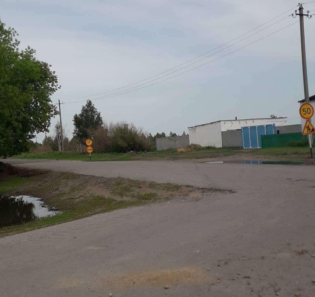 Дорога в село Осиновку