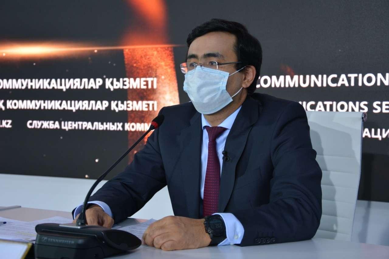 """Заместитель председателя правления холдинга """"Байтерек"""" Рустам Карагойшин"""