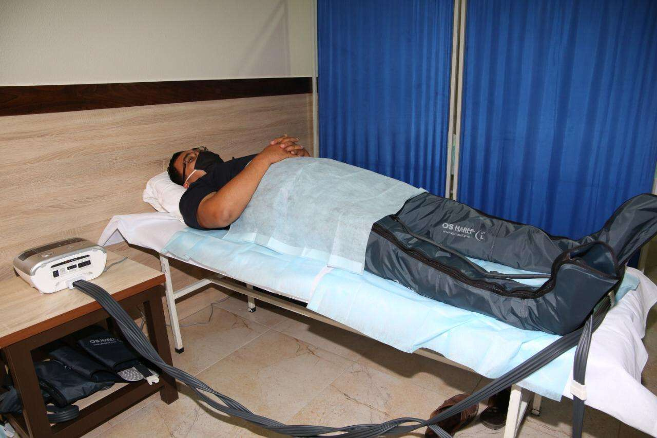 В центре применяют различные методики физиотерапевтических видов лечения