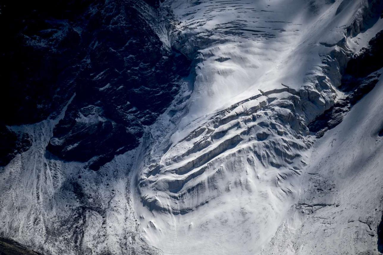 Разрушающийся ледник