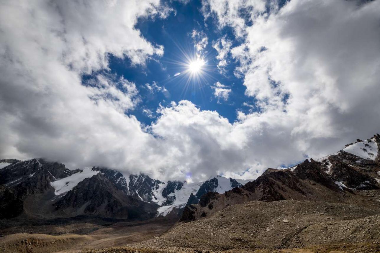 Окрестности ледника Туюк-Су