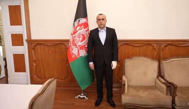 Вице-президент Афганистана Амрулла Салех
