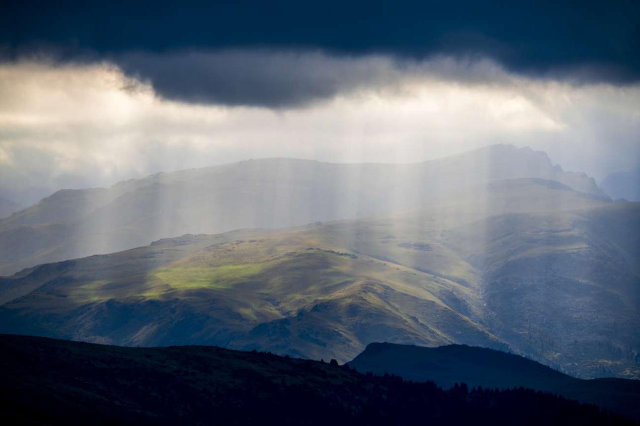 Высота плато над уровнем моря - 2700 метров