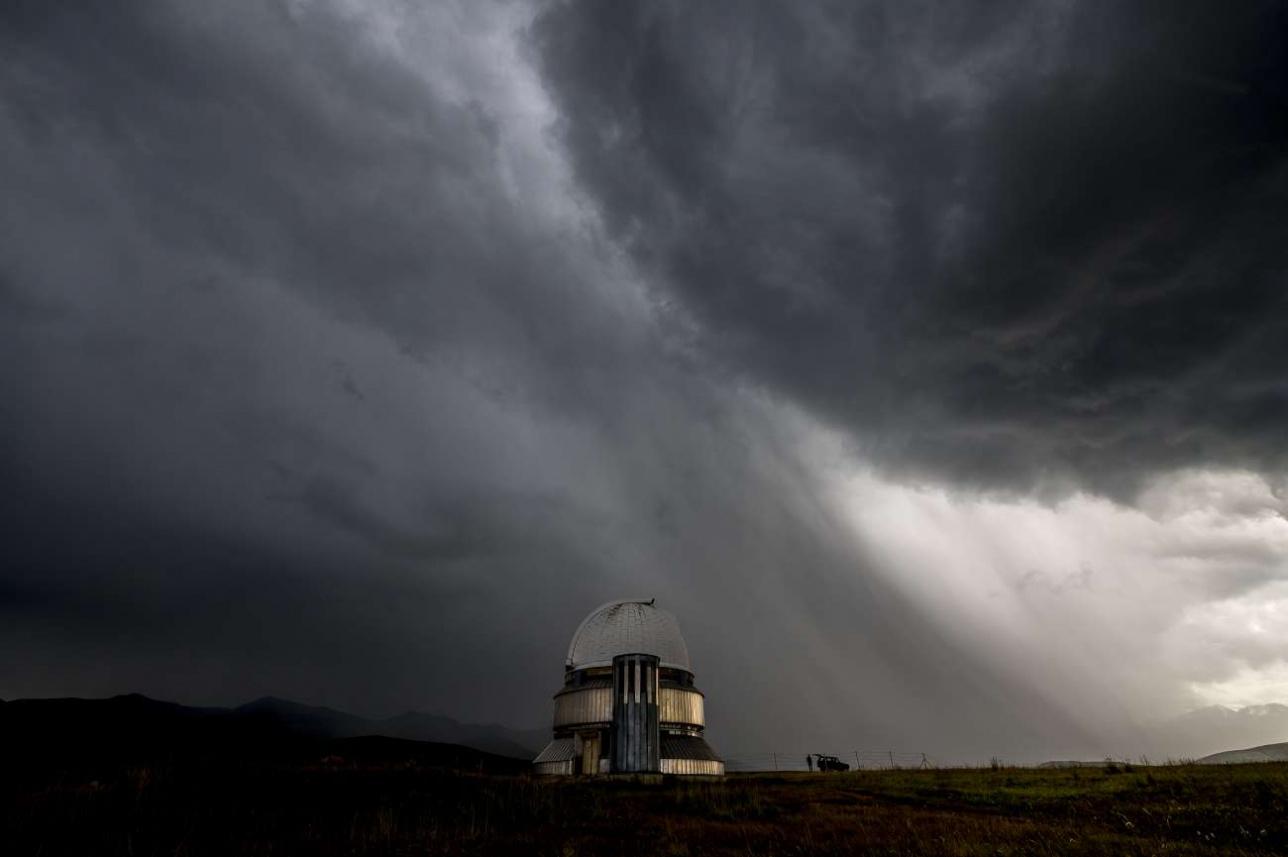 Телескопы надёжно защищены от молний