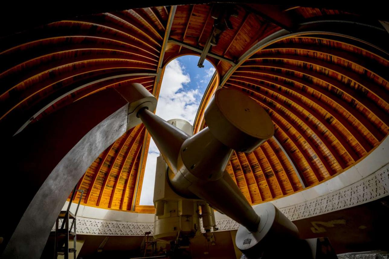 Метровый телескоп Сarl Zeiss