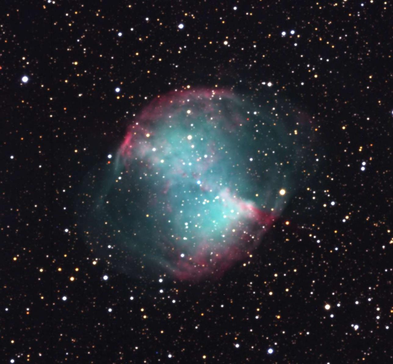"""Туманность M-27 """"Гантель"""" (NGC6853)"""