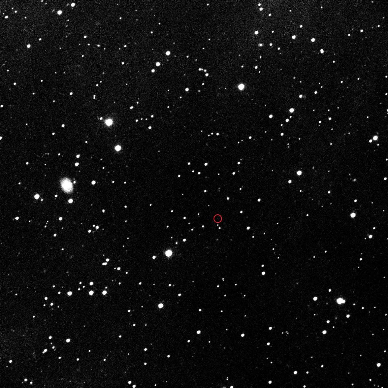 Объeкт GRB190829A в созвездие Кита