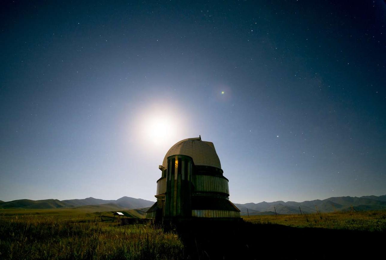 Луна, звёзды и планеты