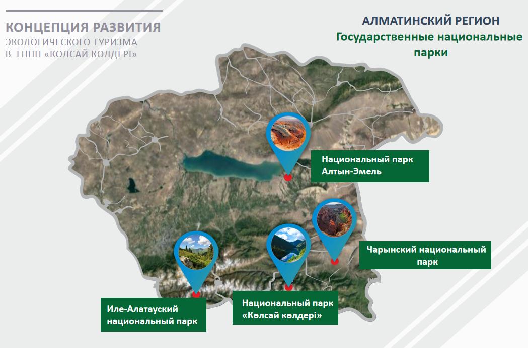 Нацпарки Алматинской области