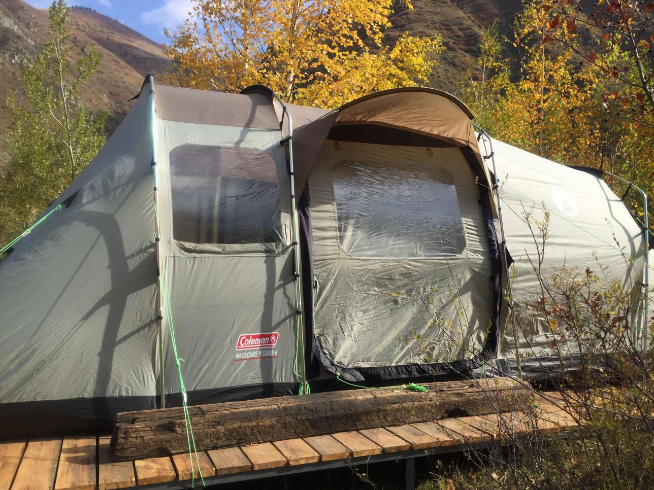 Палатка для проживания инструкторов