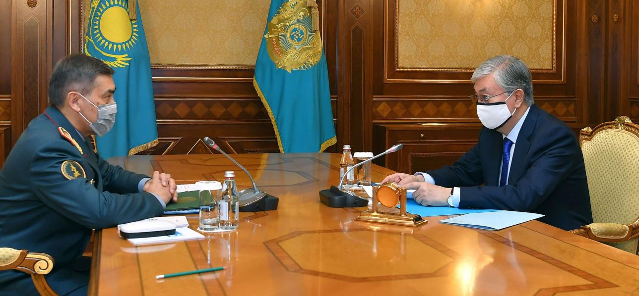 Касым-Жомарт Токаев принял Нурлана Ермекбаева