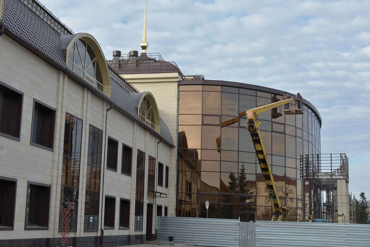 Здание вокзала реконструируют впервые с 1959 года