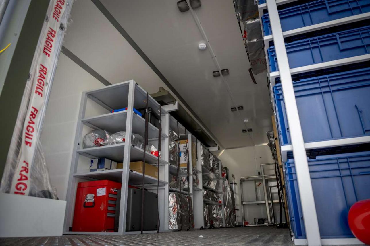 КУНГ (кузов универсального нулевого габарита) для перевозки оборудования