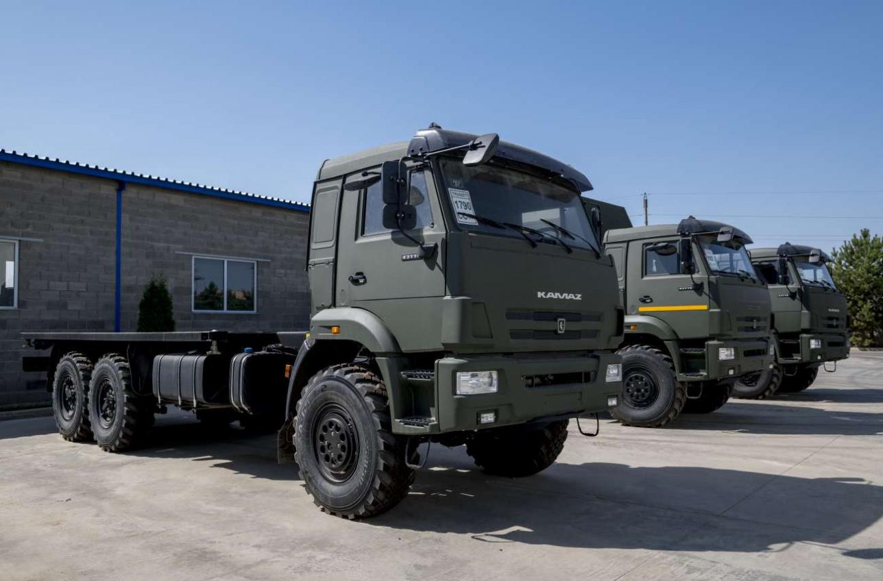 Автомобили КАМАЗ казахстанской сборки