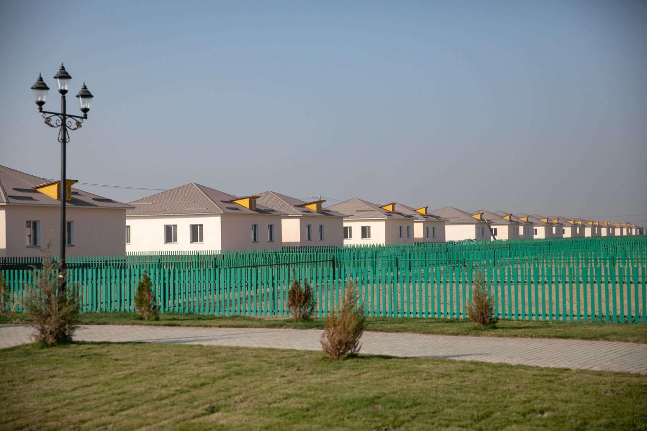 Дома для 150 семей построили за счёт Фонда Булата Утемуратова