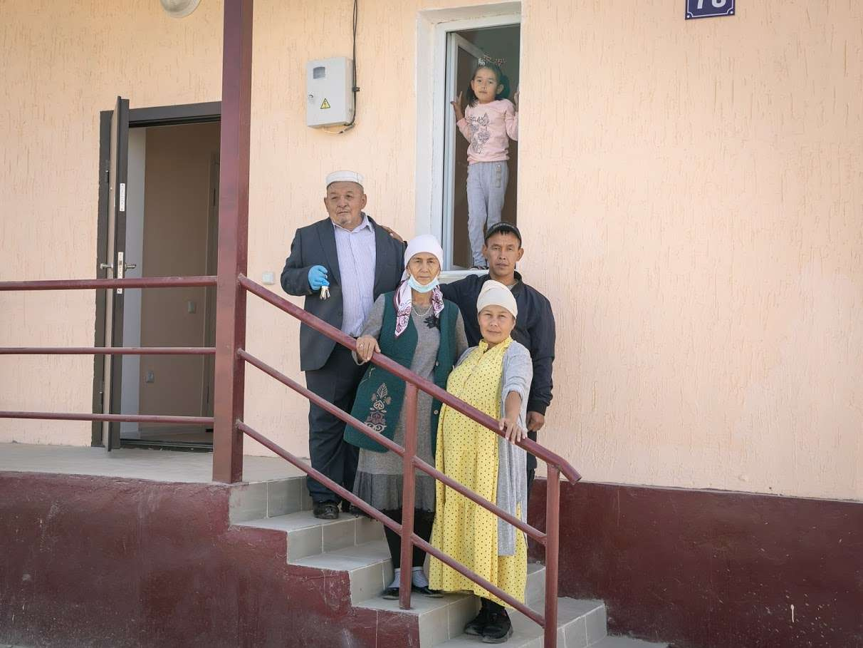 Семья Танирбергеновых