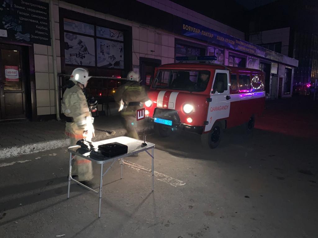 В тушении пожара были задействованы порядка 50 огнеборцев