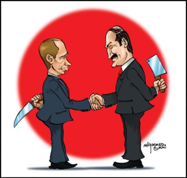 Путин и Лукашенко - псевдосоюз?
