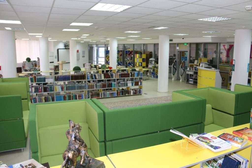 Библиотека в НИШ в Нур-Султане
