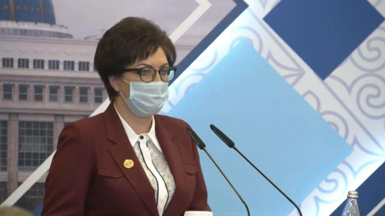 атьяна Курынова, председатель суда района Шал акын Северо-Казахстанской области