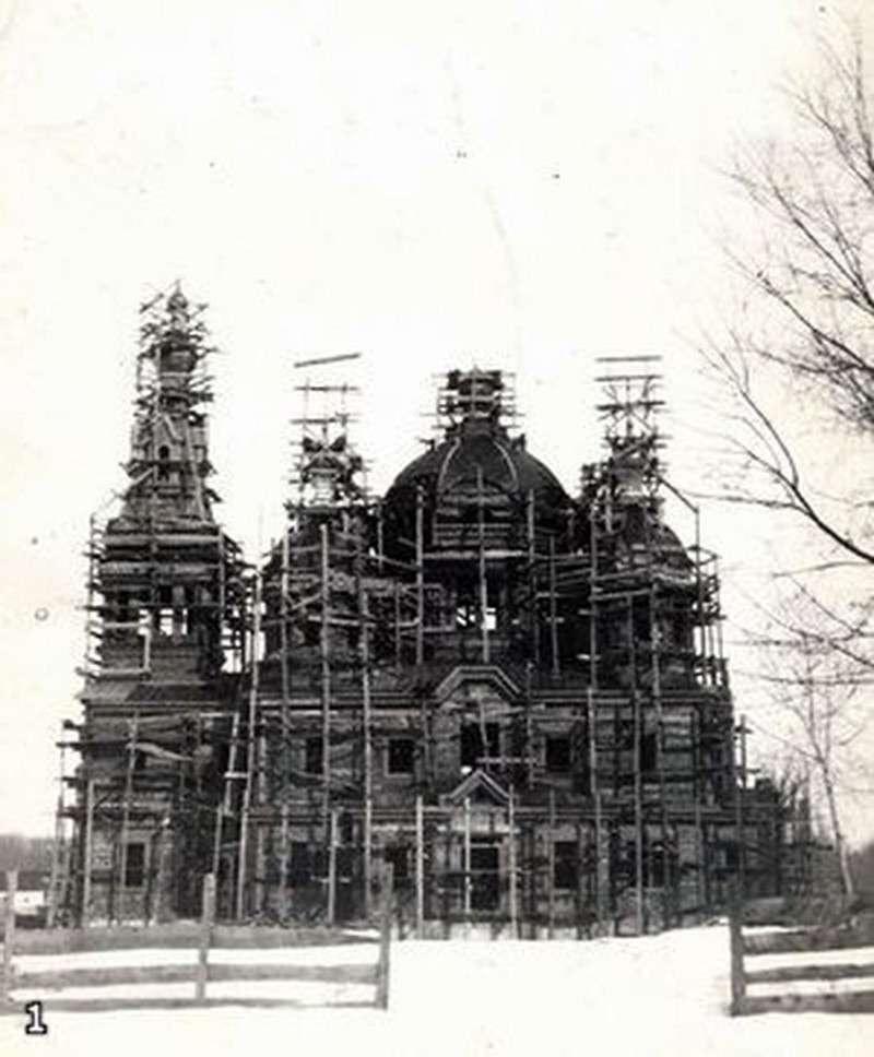 Собор после землетрясения 1911 года