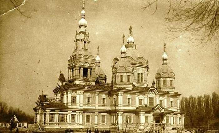 Так выглядел Вознесенский Собор в 1907 году