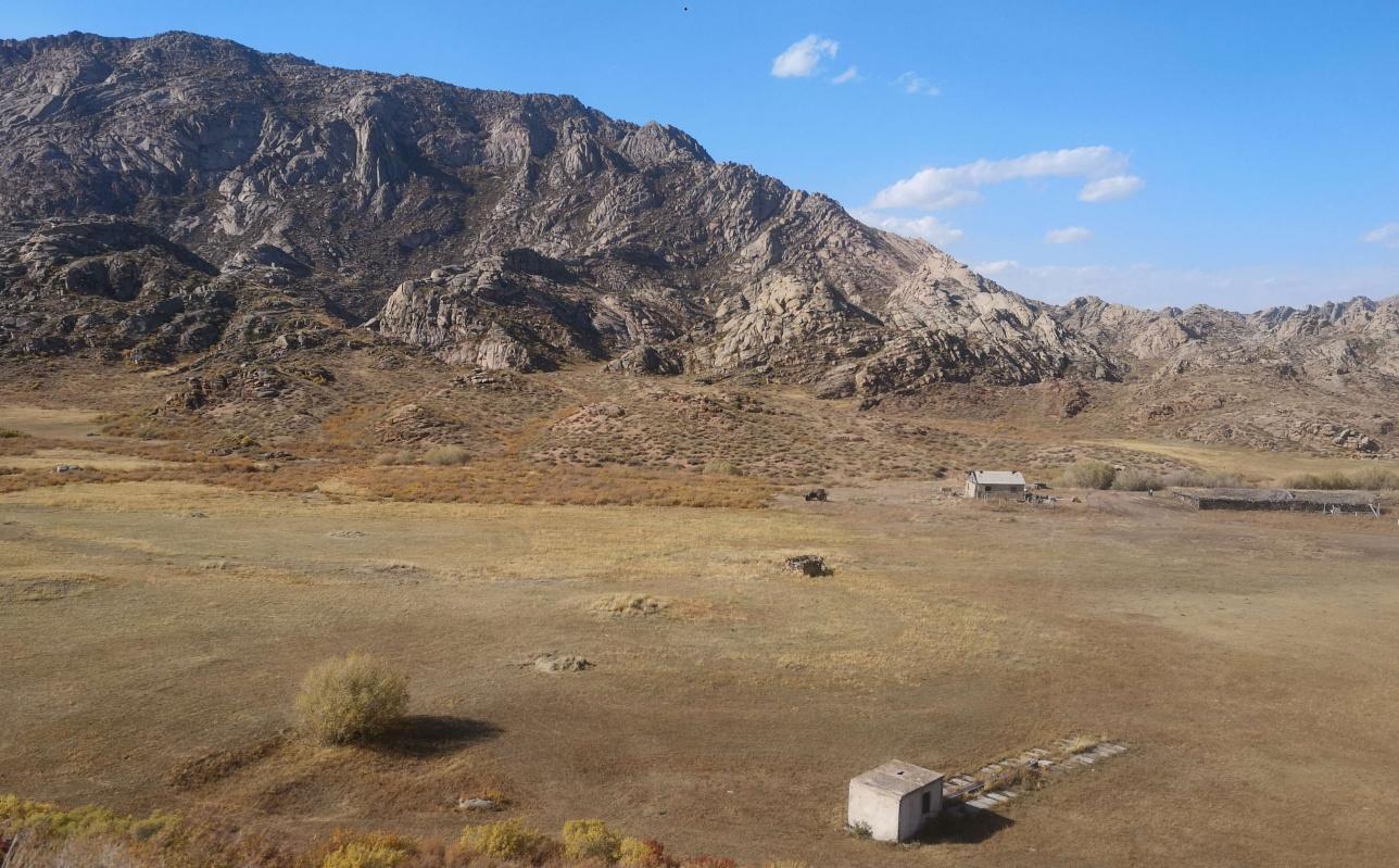 Итбай қыстауының қазіргі көрінісі