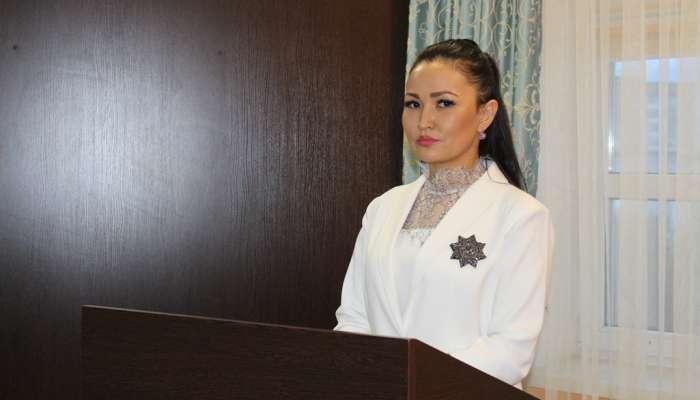 Мереке Сабырбаева, судья городского суда Актобе
