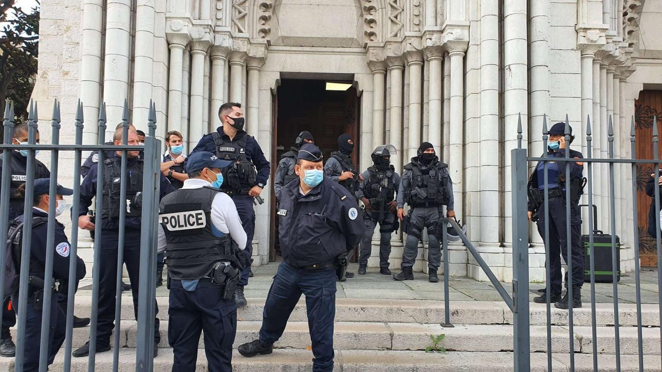 Нападение произошло в церкви в