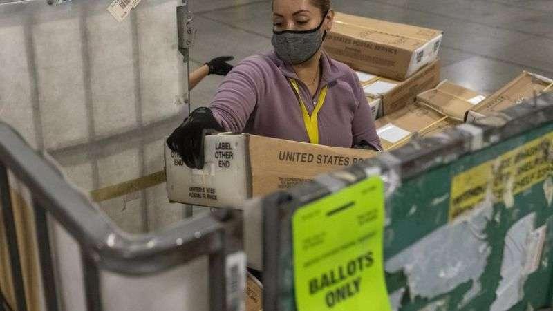 Орегон штатында соңғы жылдары сайлаушылардың көп бөлігі поштамен дауыс береді