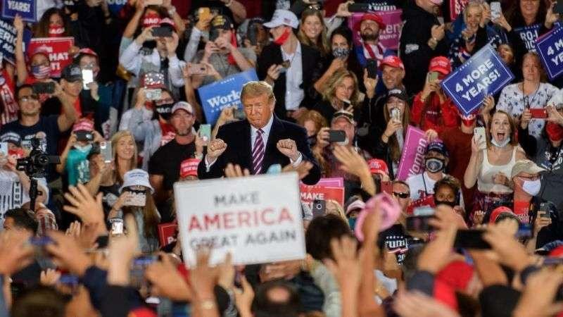 Дональд Трамп Пенсильванияда митинг өткізді