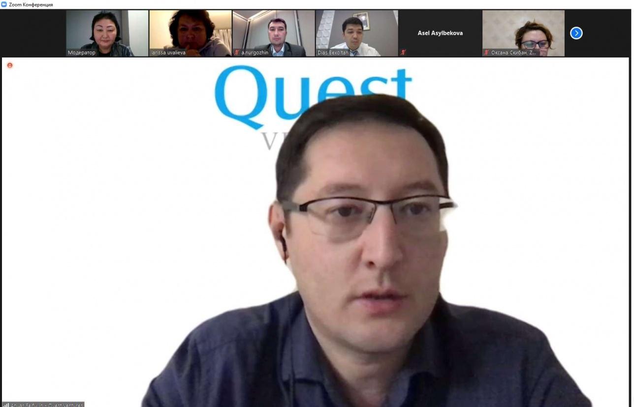 Инвестиционный директор Quest Ventures Ануар Сейфуллин.