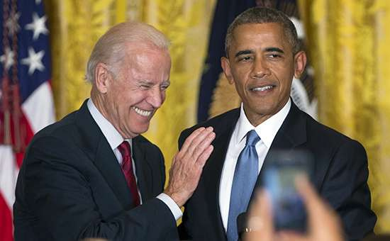 Джо Байден және Барак Обама