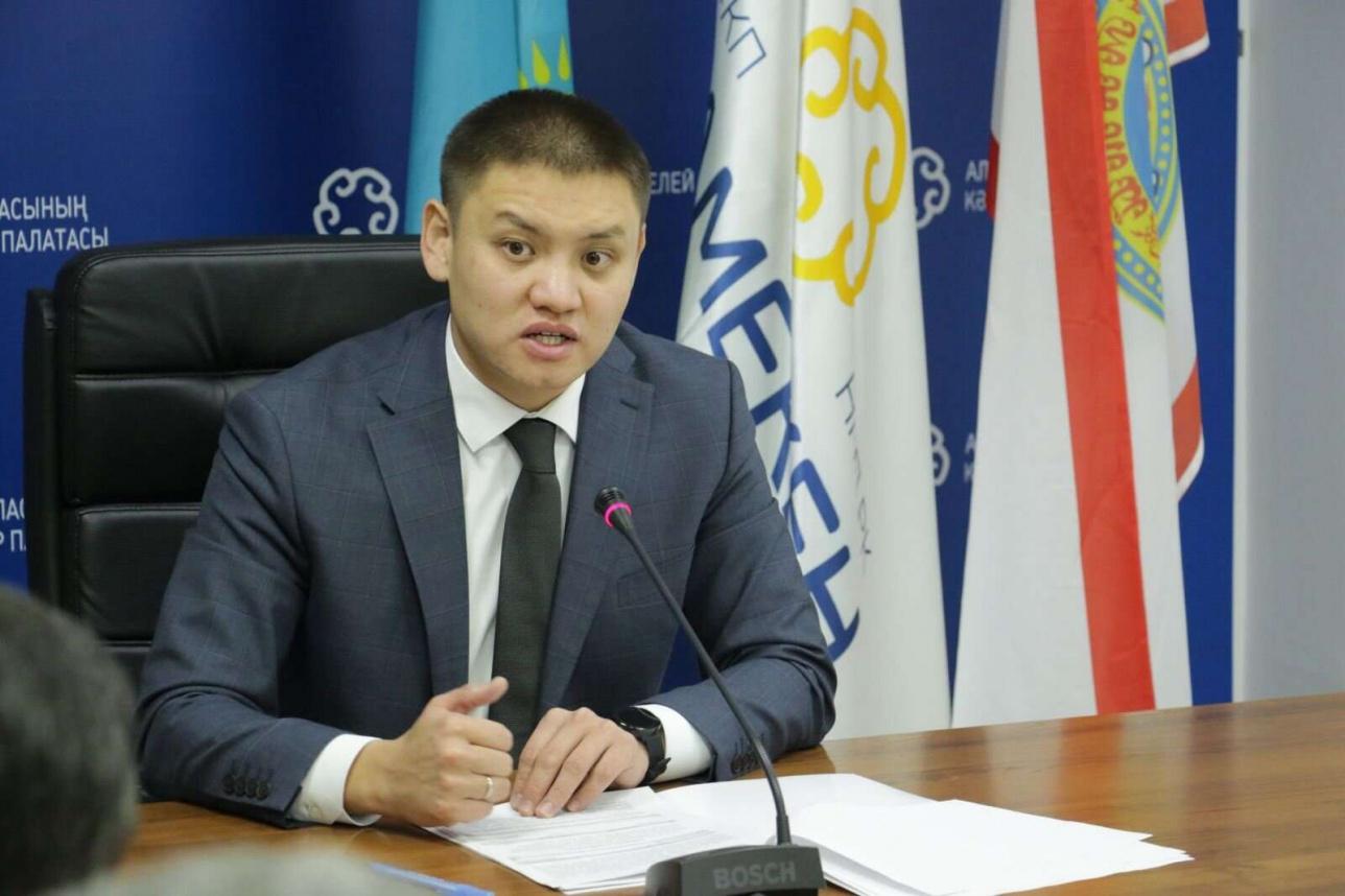 Новый директор палаты предпринимателей в Алматы Айтуар Кошмамбетов