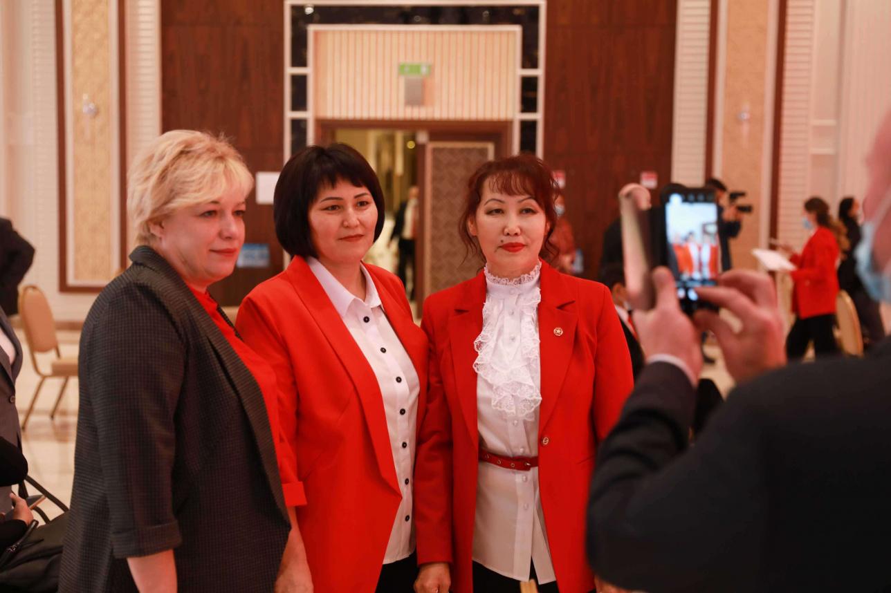 Участницы съезда КНПК
