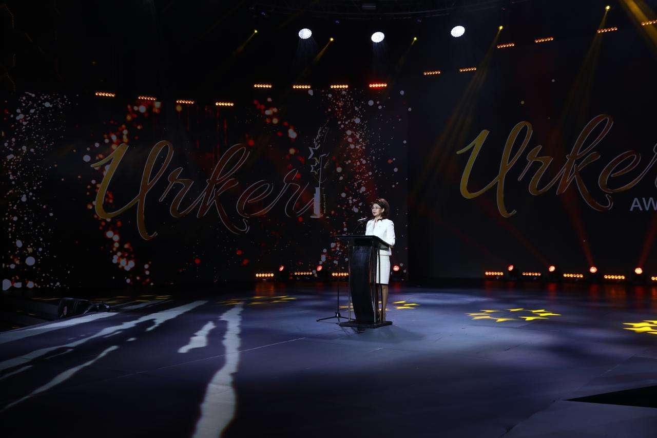 "Аида Балаева на церемонии вручения премии ""Уркер"""