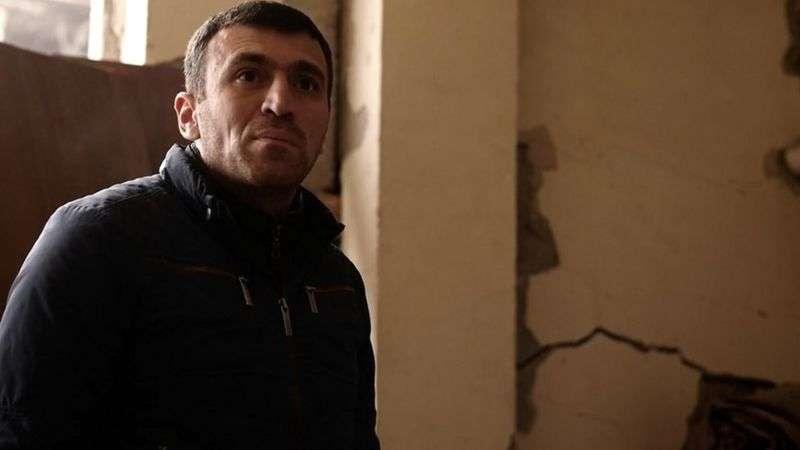 """""""Надо оставаться. Надо жить дальше"""", - говорит Вахе, владелец магазина в Степанакерте"""