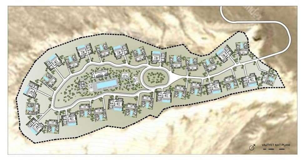 Проект отеля в урочище Бозжыра
