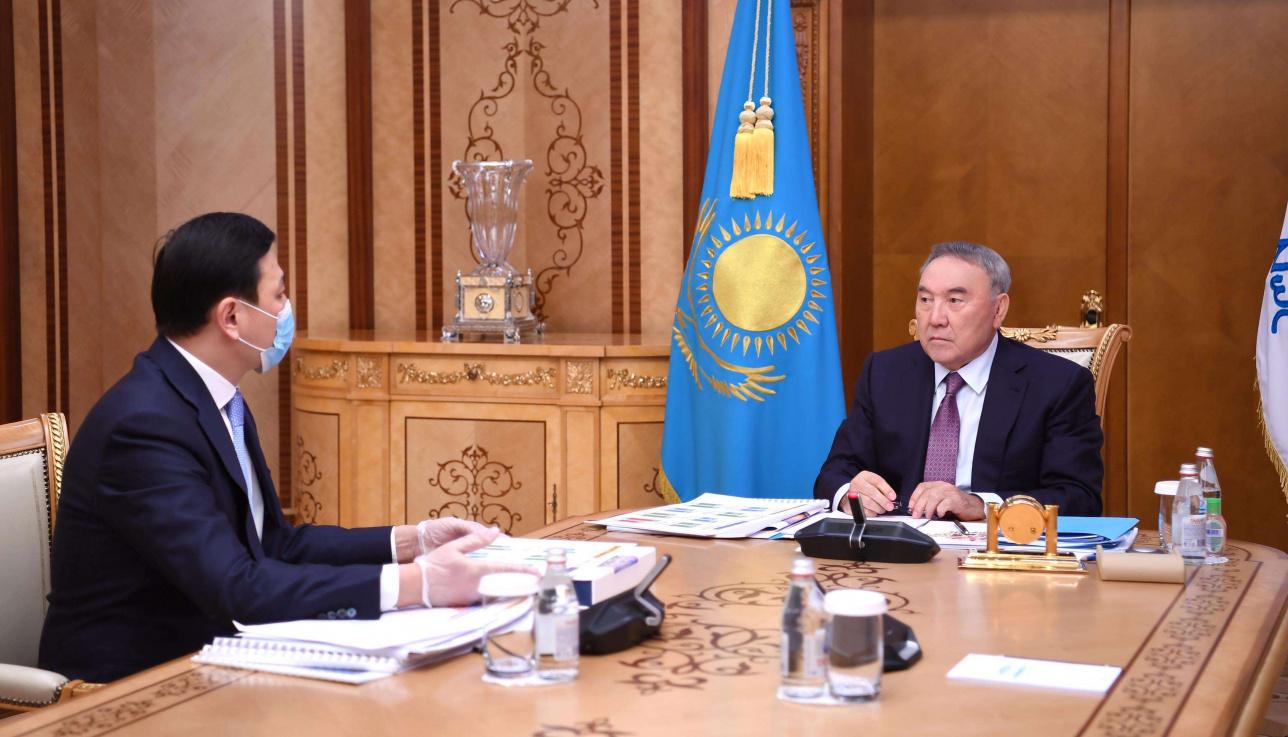 Назарбаев принял акима столицы