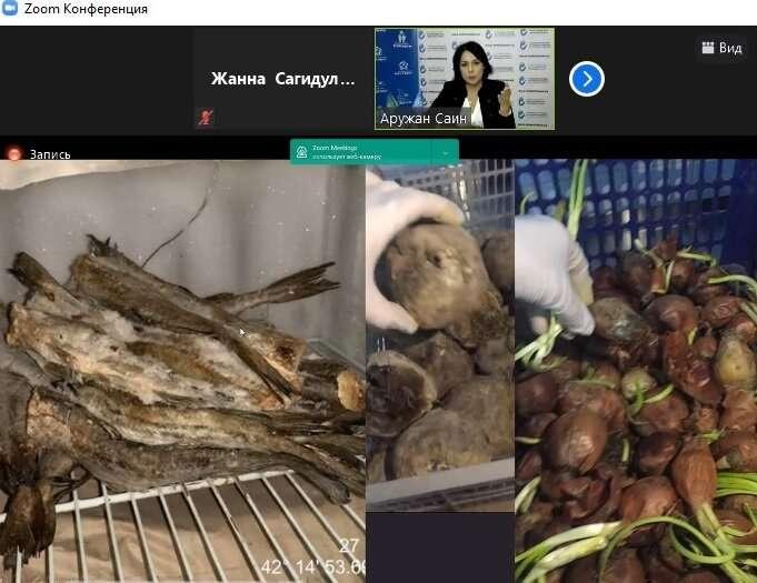 Проверяющие обнаружили на складе гнилые овощи и фрукты, которыми собирались кормить детей из детского дома