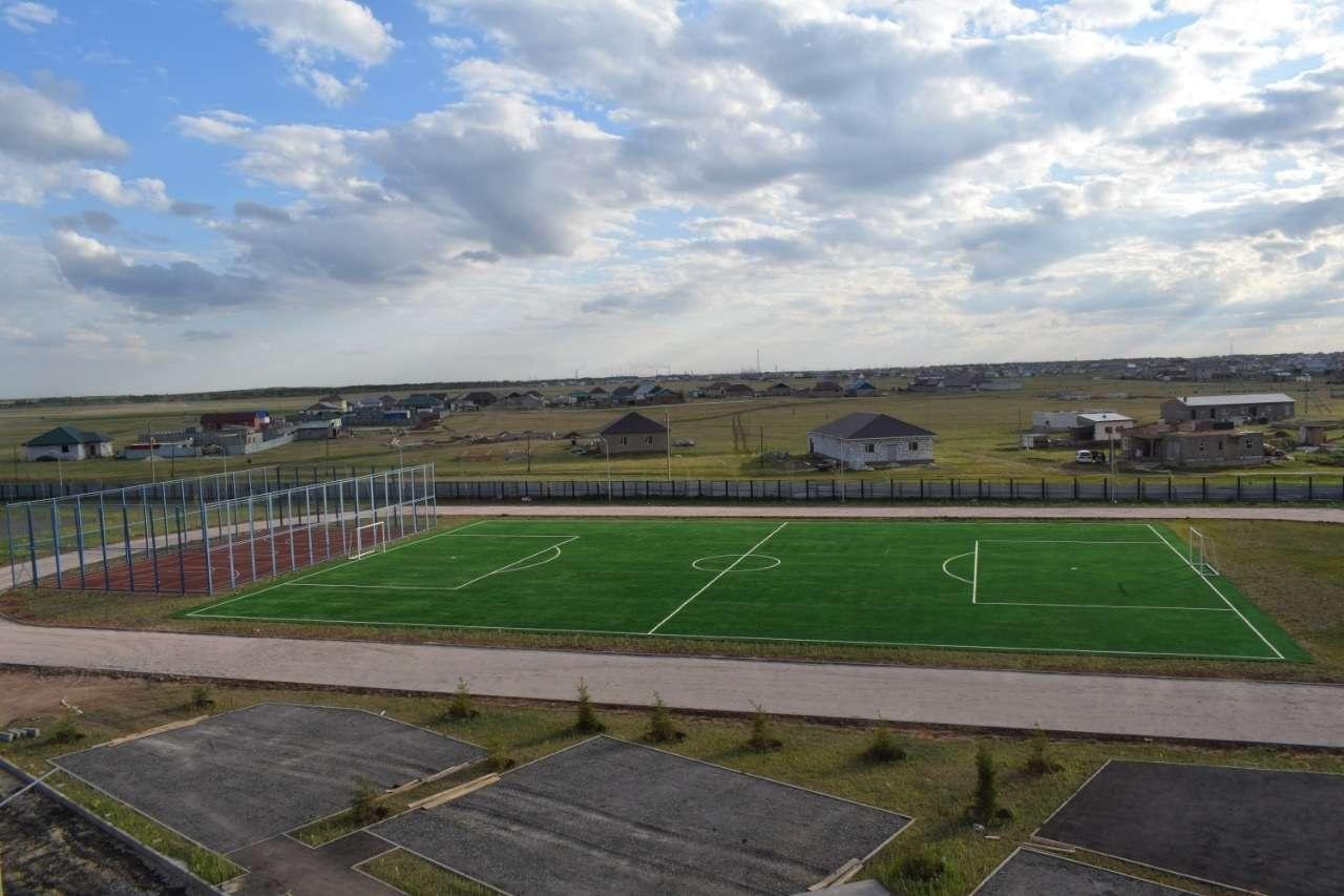 Новый стадион открыли в Целиноградском районе Акмолинской области