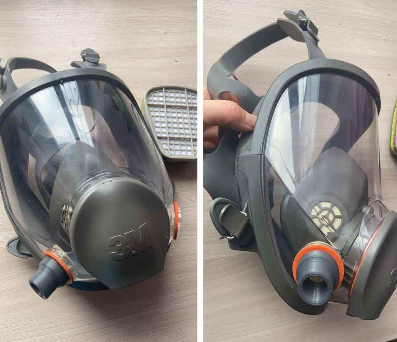 Такие маски купили для карагандинских врачей